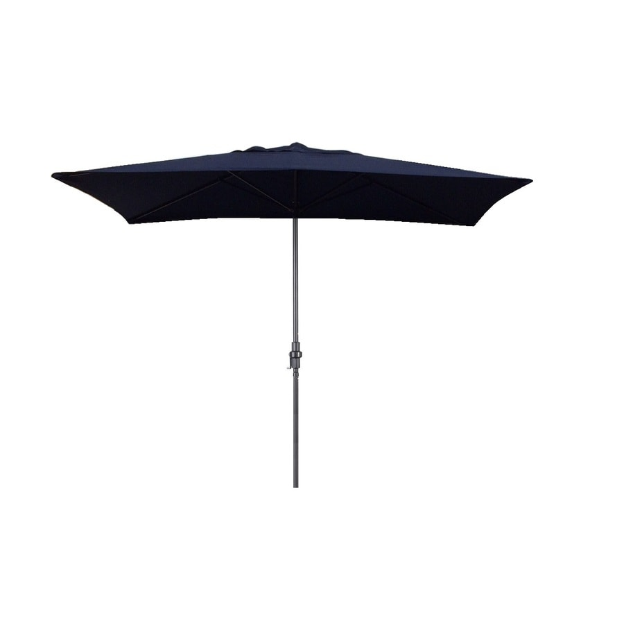 Escada Designs Navy Blue Market 10-ft Patio Umbrella
