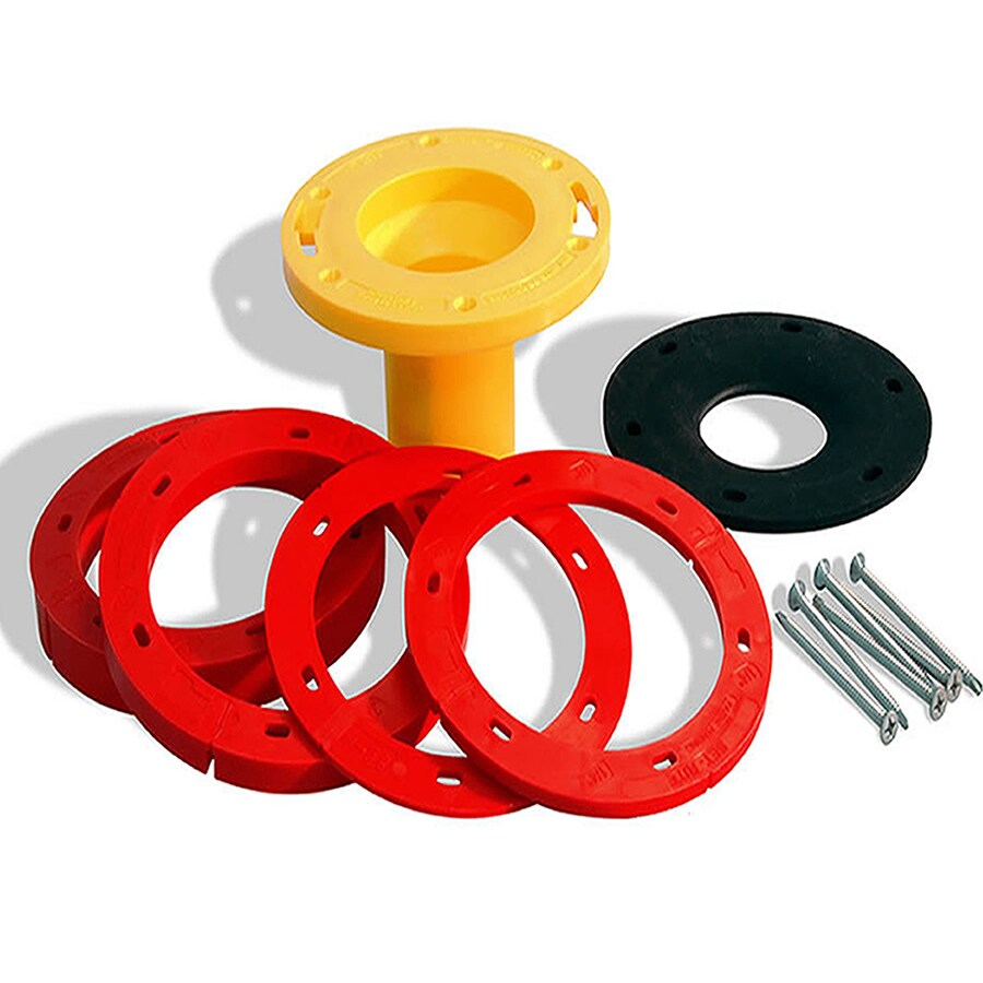 Beau Set Rite Products PVC Toilet Flange Extender Kit