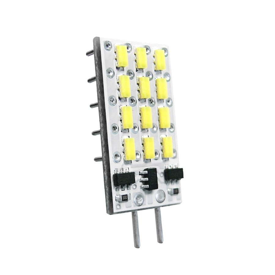 Array 1-Watt (10W) T3 Plug-in Base Warm White Indoor LED Flood Light Bulb