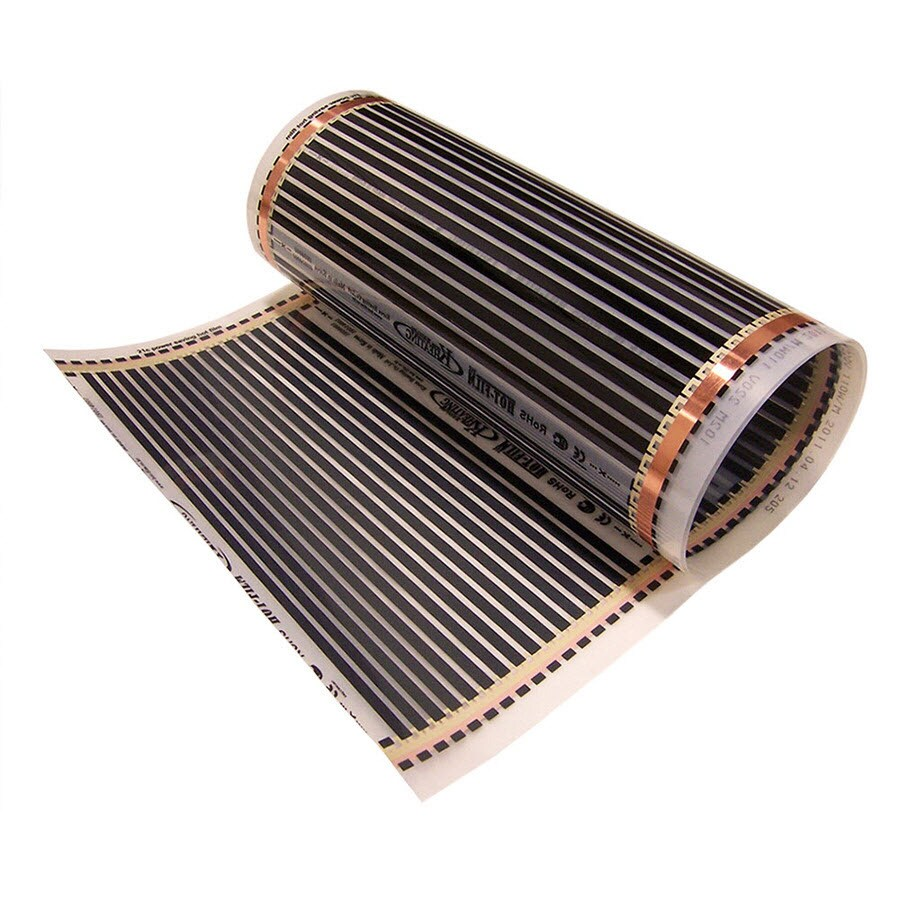 FloorHeat 20-in x 39-in Black 110-Volt Electric Film