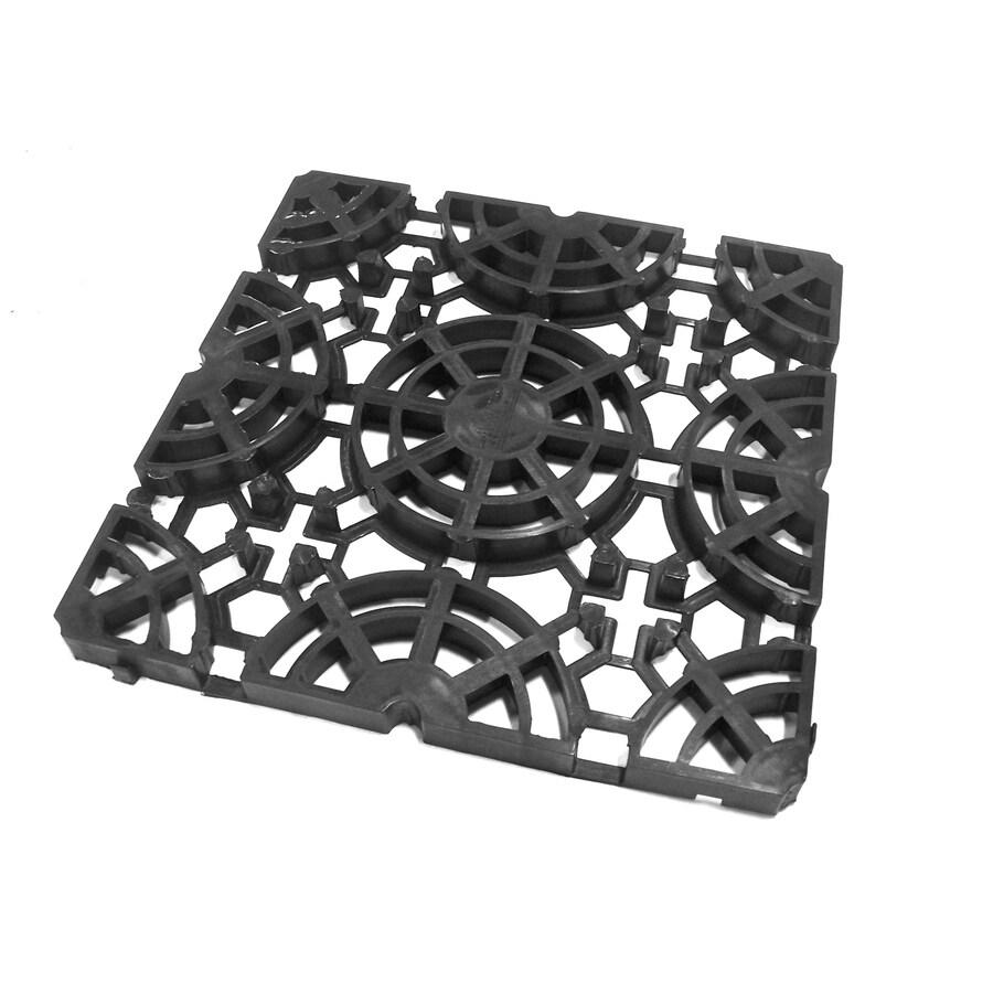 Shop Floorheat 16 In X 16 In Black Grid Module At Lowes Com