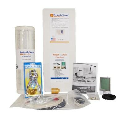 Grey 120 Volt Digital Floor Heating Kit