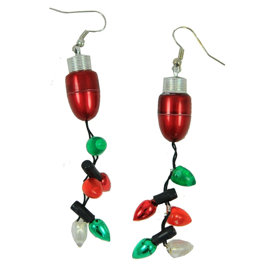 Shop Magic Seasons Lighted Christmas Earrings at Lowes.com