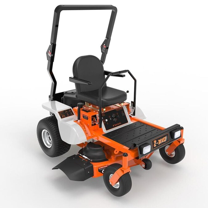 Z Beast 20 Hp V Twin Dual Hydrostatic 48 In Zero Turn Lawn Mower In The Zero Turn Riding Lawn Mowers Department At Lowes Com