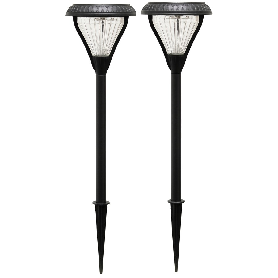Gama Sonic Premier 36X 1-Watt Black Solar LED Path Light