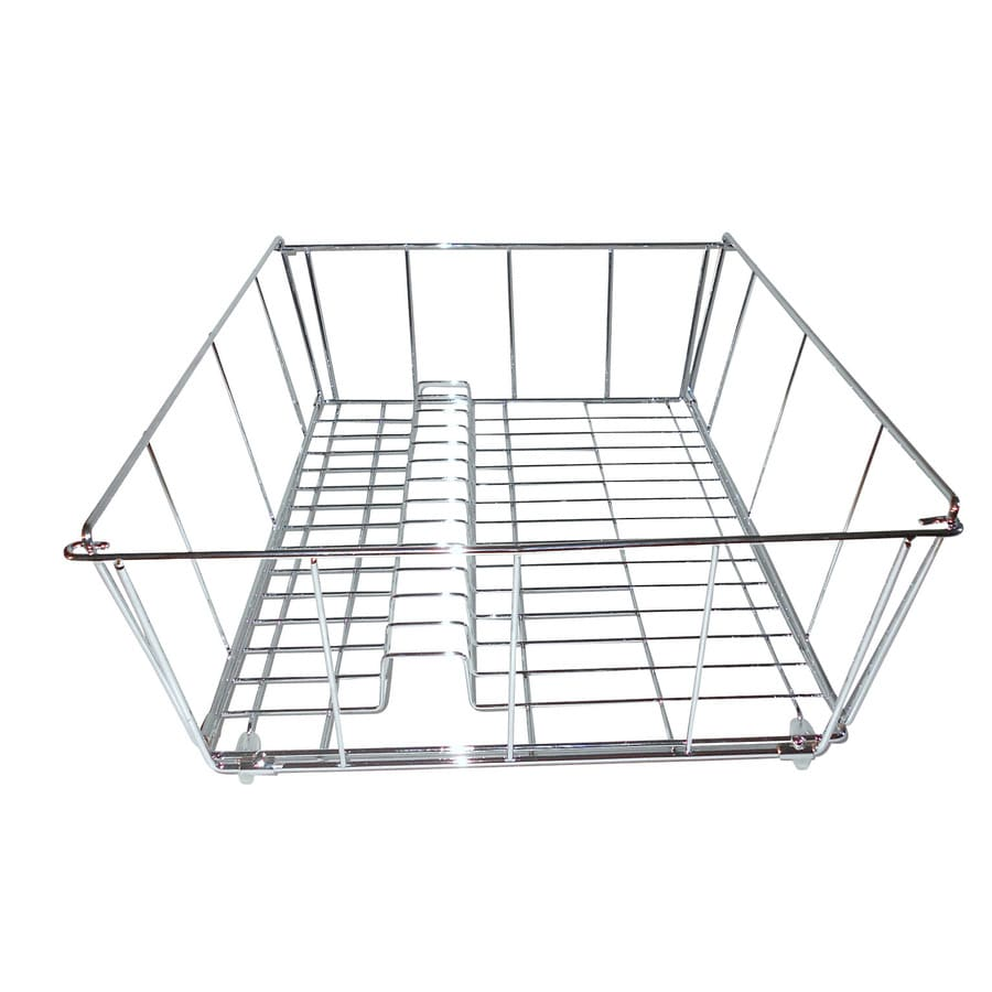 Designers Choice 14-in W x 17.5-in L x 6.25-in H Metal Dish Rack