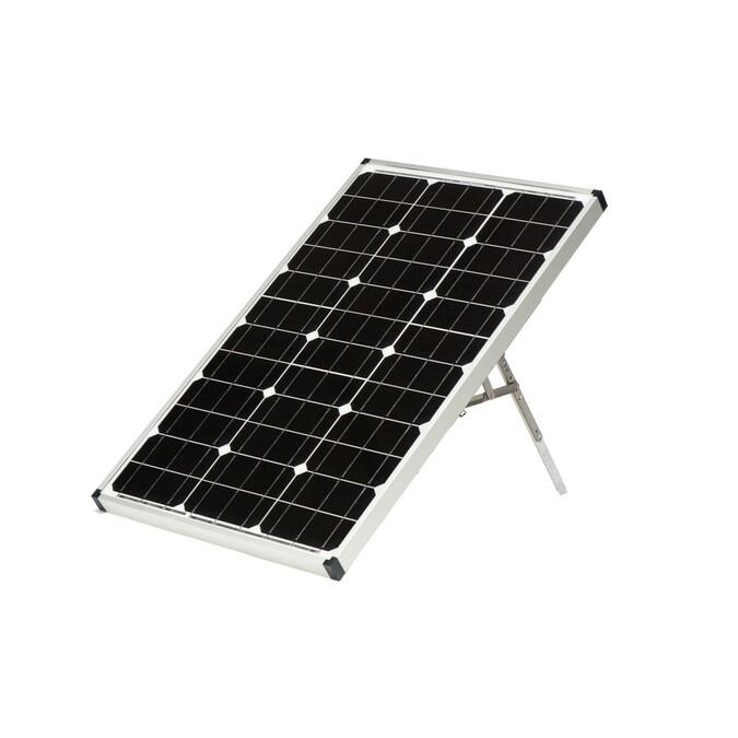Zamp Solar 41 In X 22 In X 1 5 In 60 Watt Portable Solar Panel In The Portable Solar Panels Department At Lowes Com