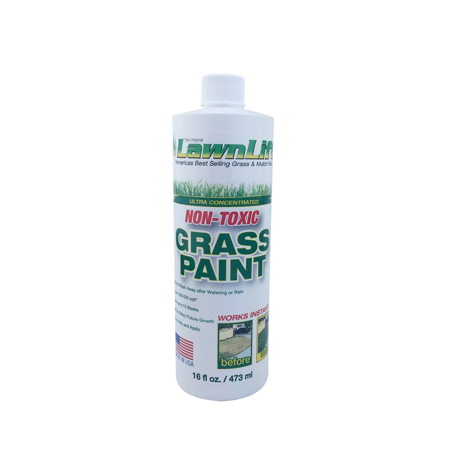 LawnLift Specialty Lawn Green Water-Based Marking Paint (Actual Net Contents: 16-fl oz)