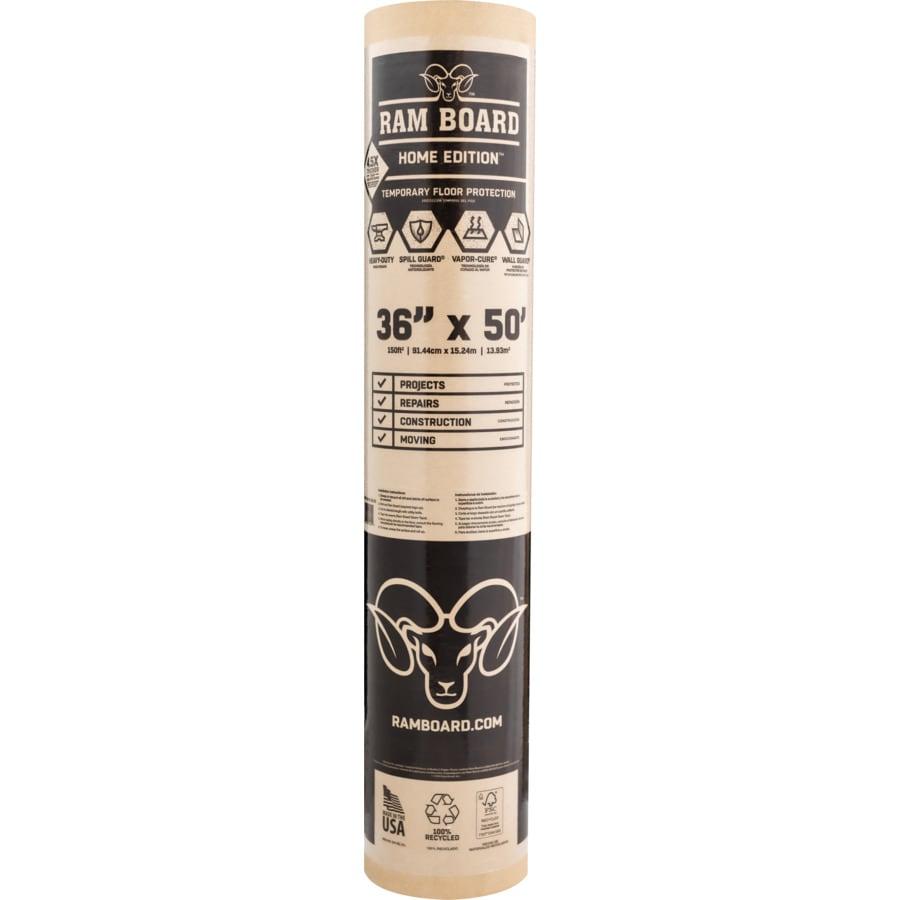 ram board 18lb paper drop cloth common 3ft x 50