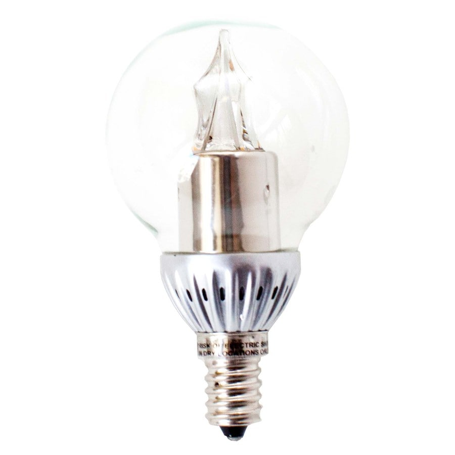 Utilitech Pro 25W Equivalent Dimmable Warm White LED Decorative Light Bulb