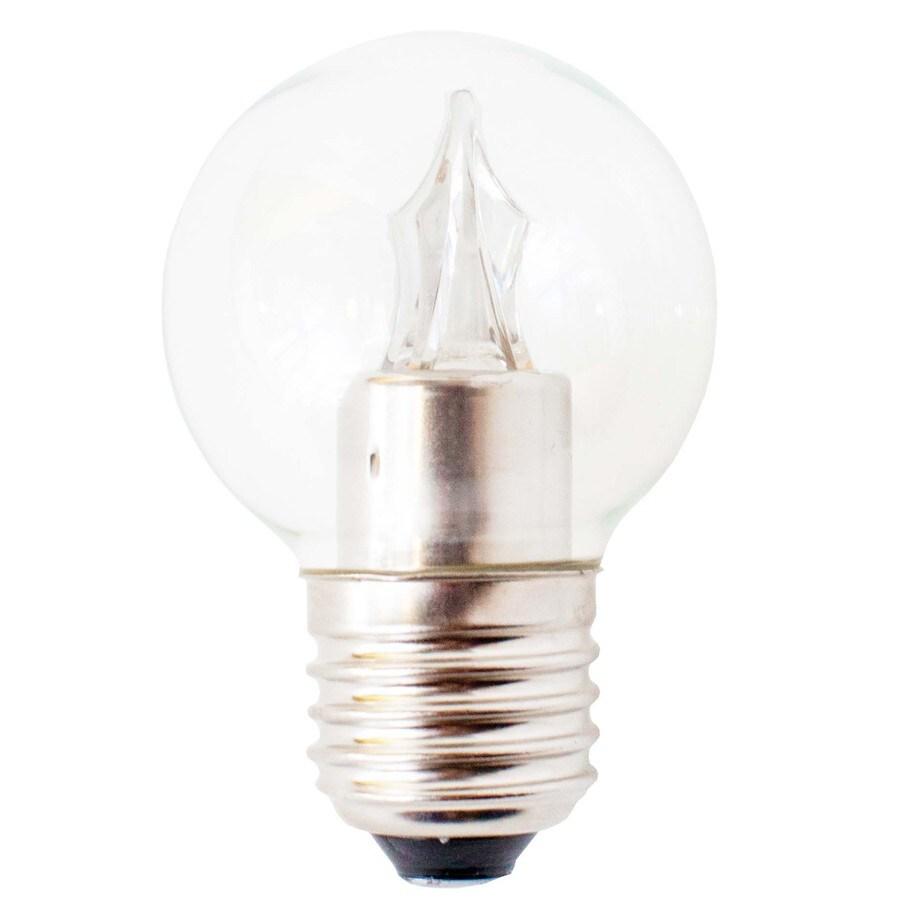 Utilitech Pro 25W Equivalent Dimmable Warm White LED Decorative Light Bulb