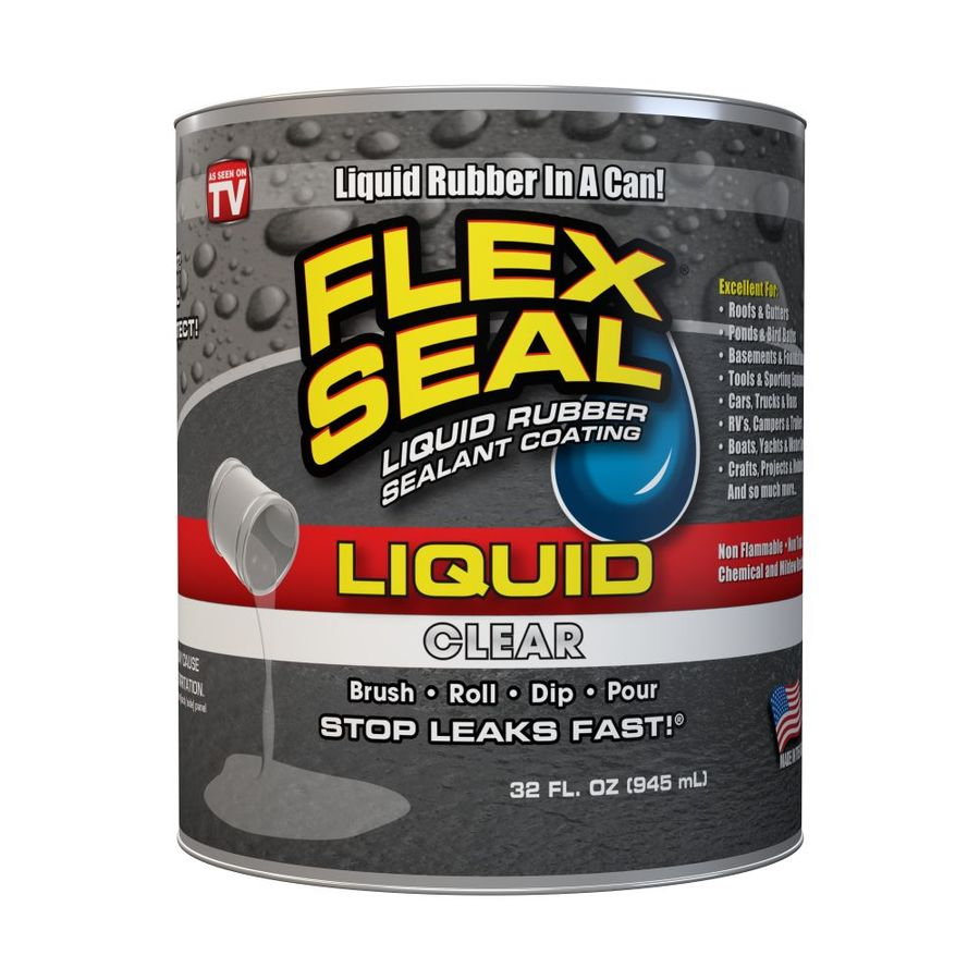 Flex Seal 32-fl oz Clear Dip Rubberized Coating