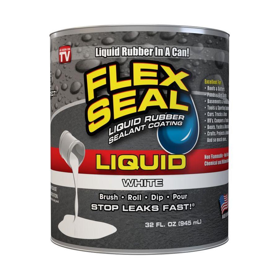 Flex Seal 32-fl oz White Dip Rubberized Coating