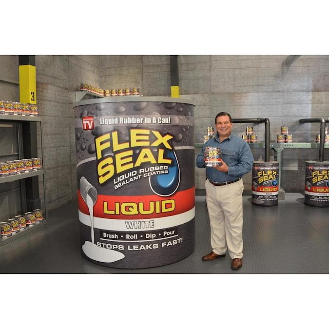Flex Seal Liquid 128 Fl Oz White Dip