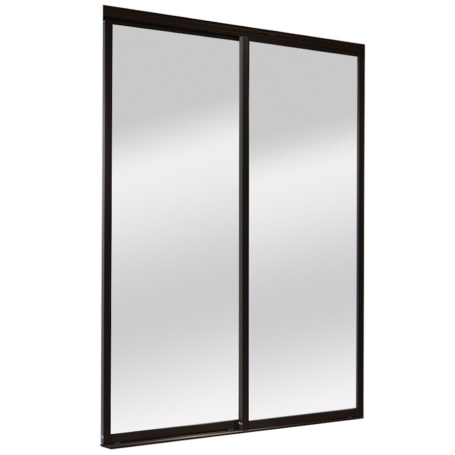 Shop reliabilt 9800 series boston mirror aluminum sliding for Aluminum sliding screen door