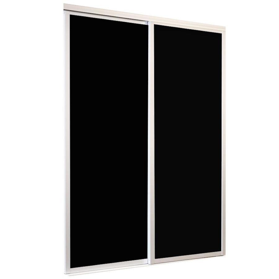 Shop Reliabilt 9800 Series Boston White Aluminum Sliding Closet Door