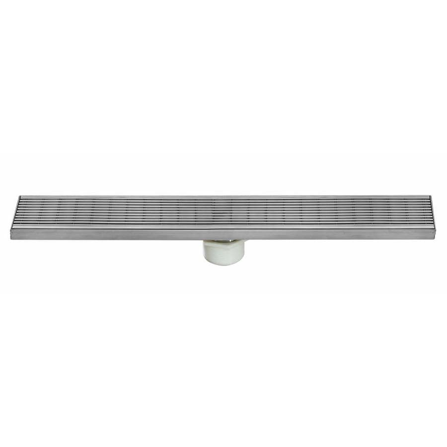 AQVA 30-in Stainless Steel Linear Shower Drain