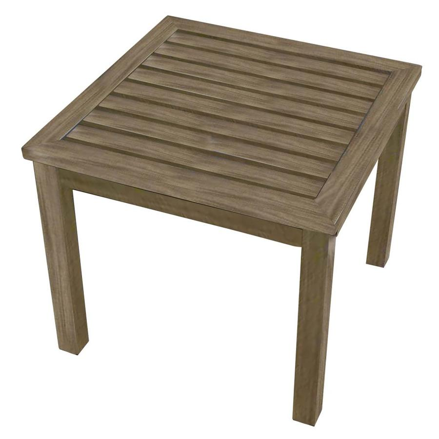 Allen + Roth Gatewood Square End Table 22-in W X 22-in L