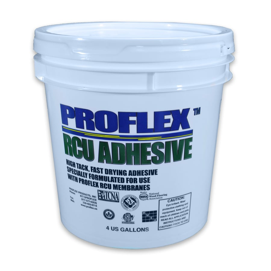 PROFLEX Off-White Universal Flooring Flooring Adhesive (Actual Net Contents: 512-fl oz)