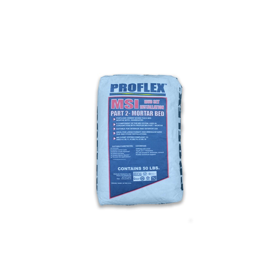 PROFLEX 50-lb Gray Powder Medium Bed