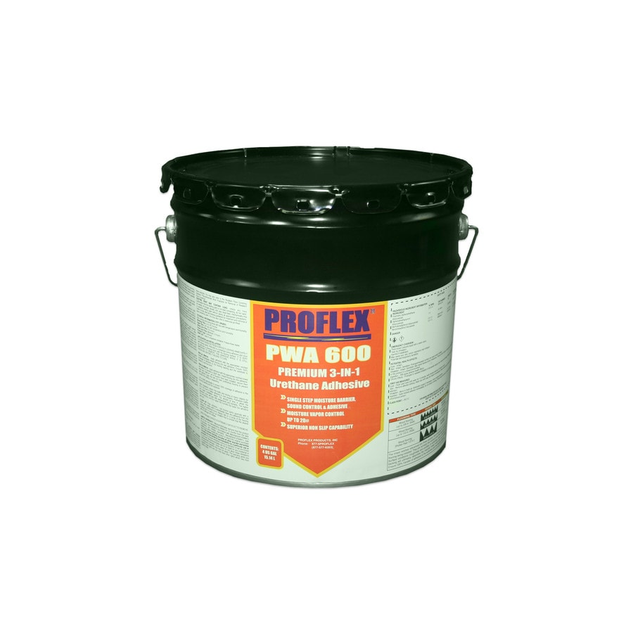 PROFLEX Yellow Flooring Adhesive (4-Gallon)