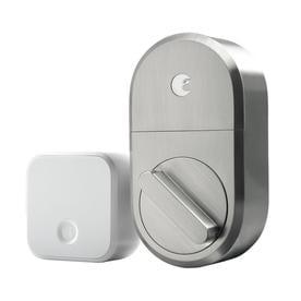 August Smart Lock + Connect, Satin Nickel