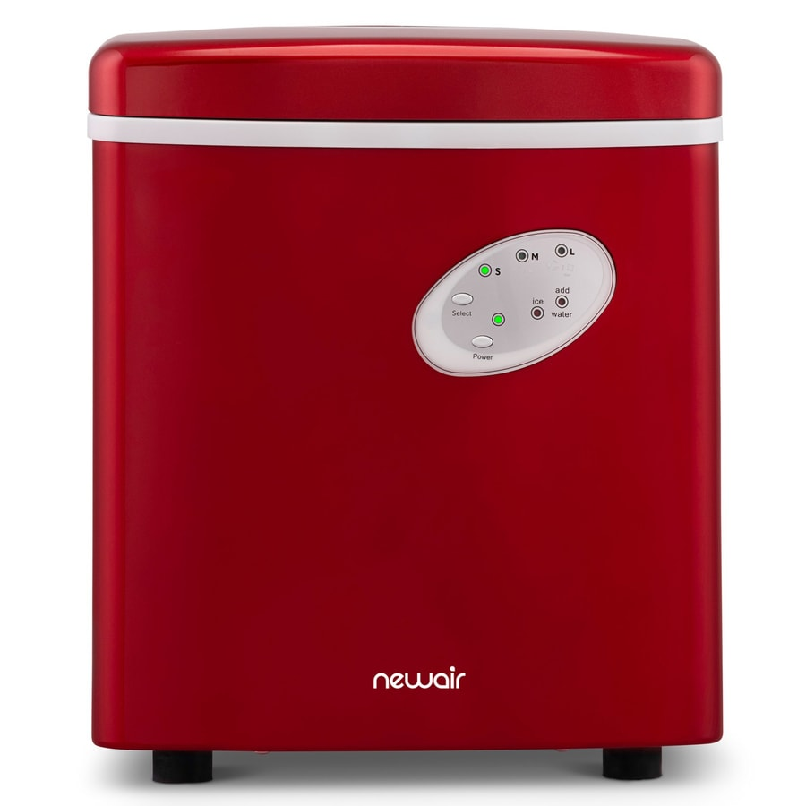 NewAir 28-lb Ice Maker (Red)