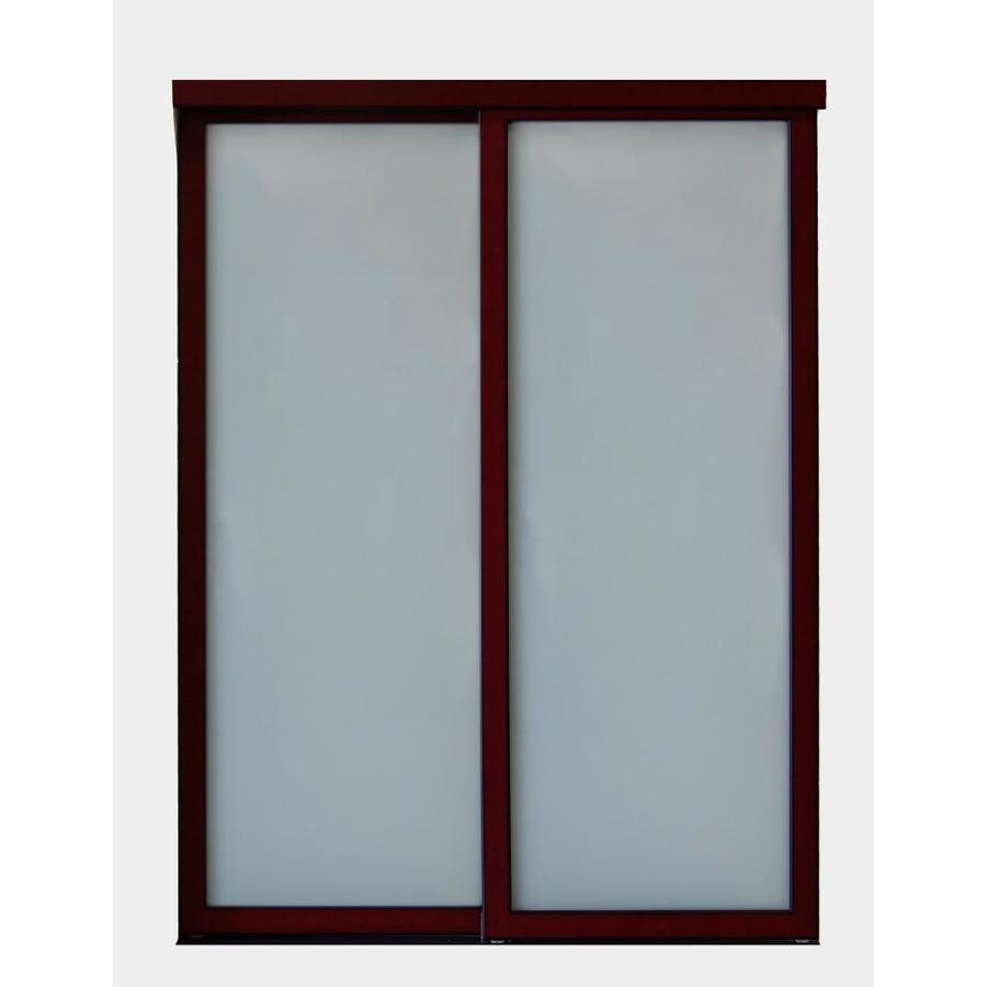 Superbe ReliaBilt 9700 Series Northwood Cherry Wood Pine Sliding Closet Door With  Hardware (Common: 60