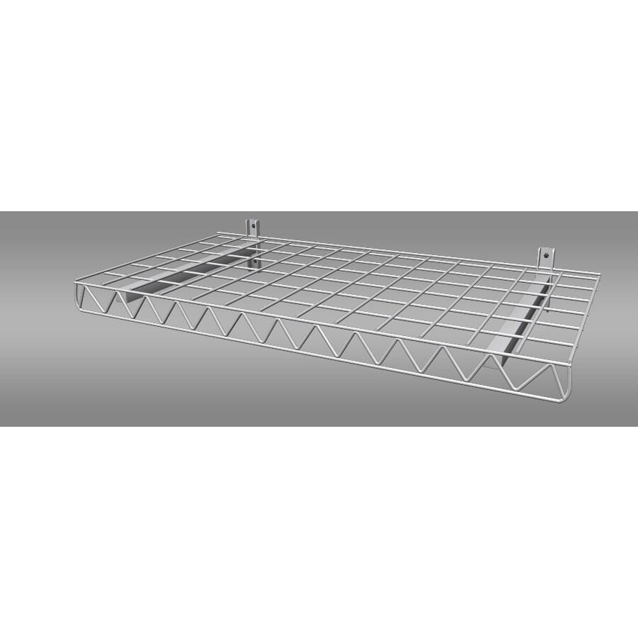 Strong Racks 19-in W x 38.75-in H x 2.5-in D Steel Wall Mounted Shelving