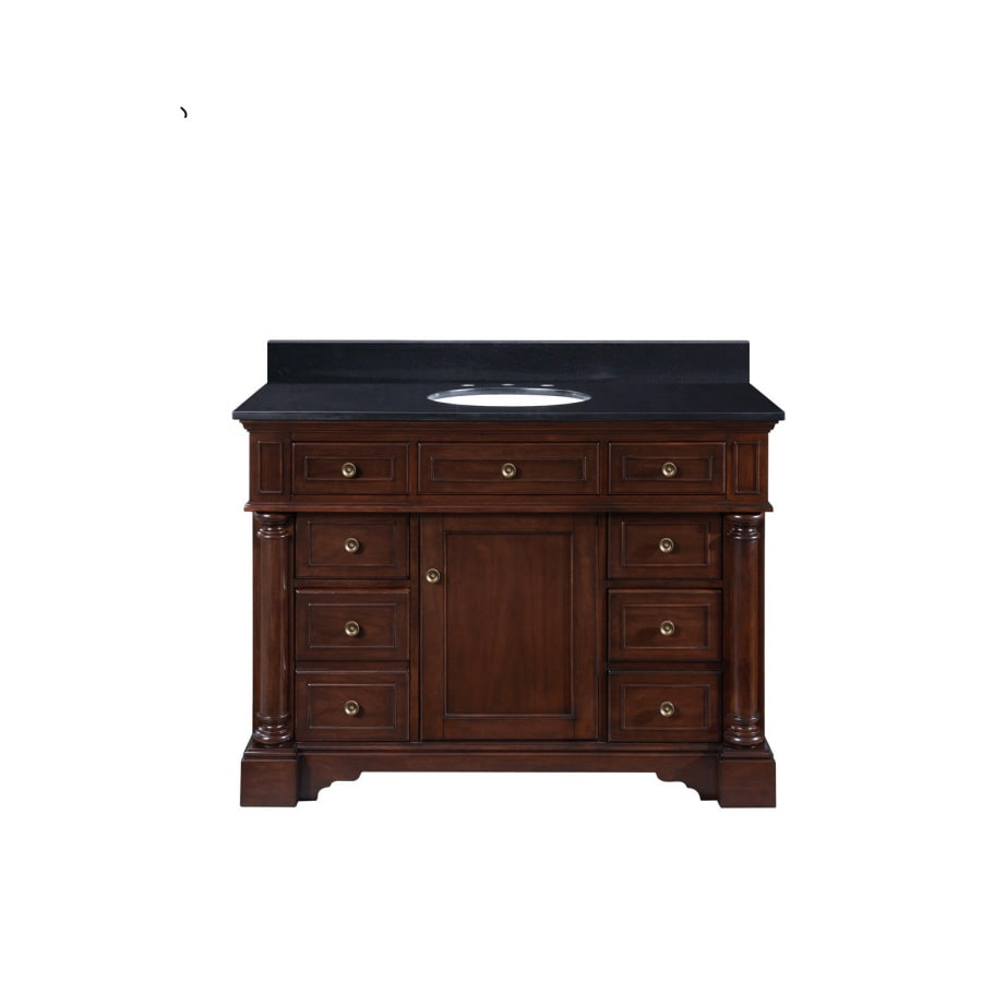 allen + roth Auburn Single Sink Bathroom Vanity with Top