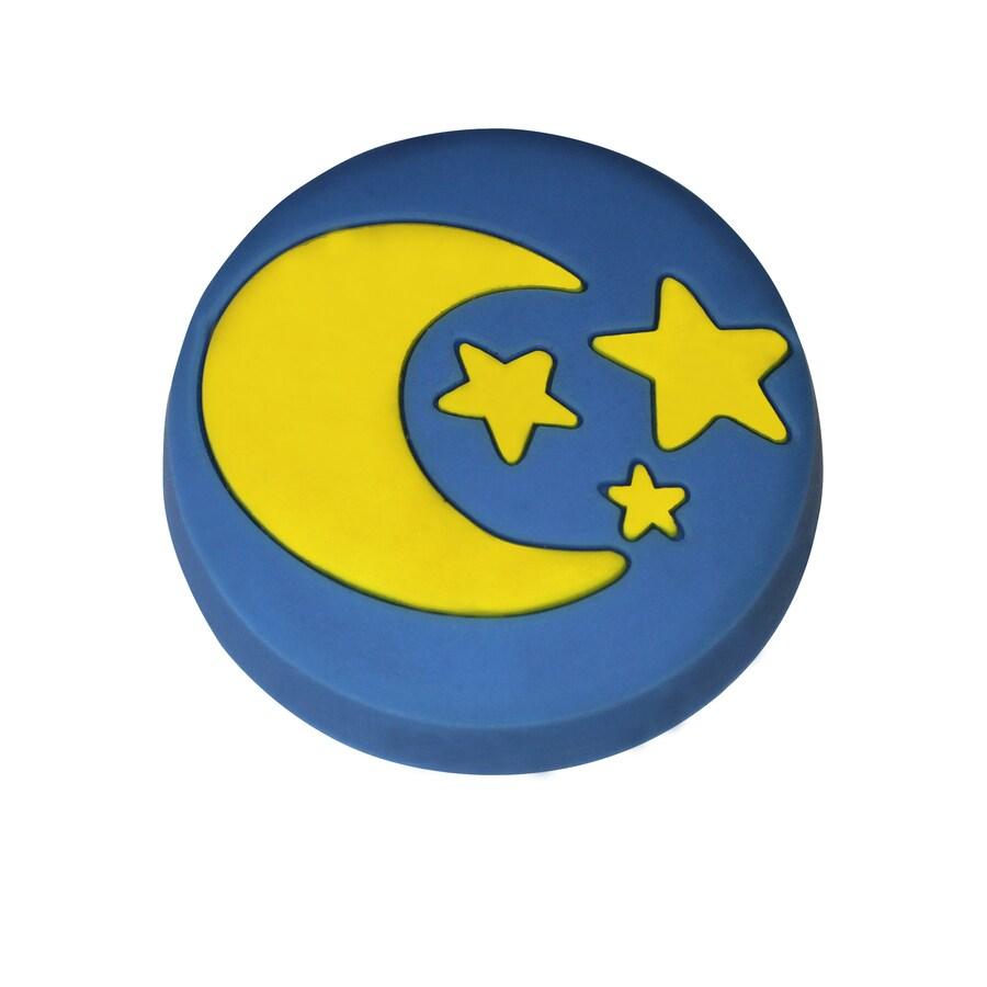 Carolina Accents Blue Round Cabinet Knob