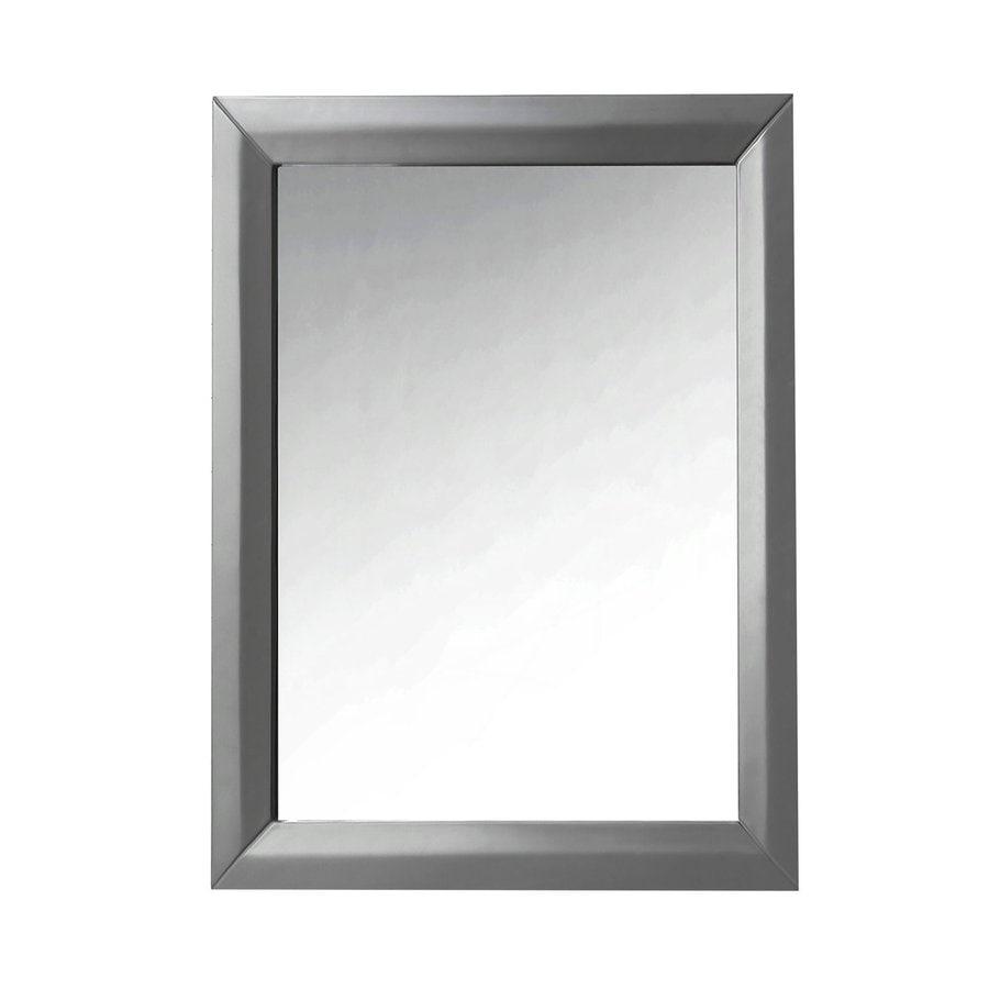 Ancerre Designs Ancerre Grey Polished Wall Mirror