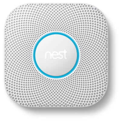Nest Protect AC Hardwired 2-Volt Photoelectric Sensor Smoke