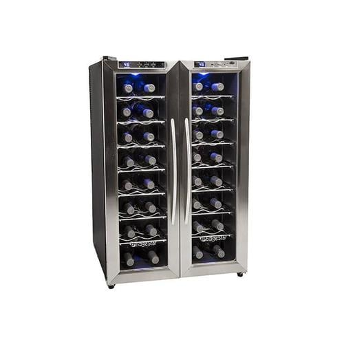 Edgestar 21 In Wide 32 Bottle Wine Cooler With Dual