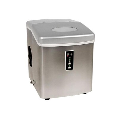 Edgestar 28 Lb Flip Up Door Portable Countertop Ice Maker