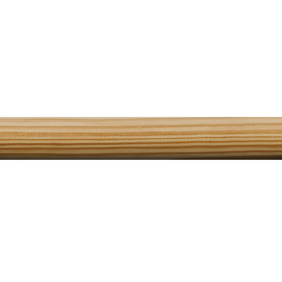Closet Pole 1-5/16-in x 6-ft Pine Full Round Moulding