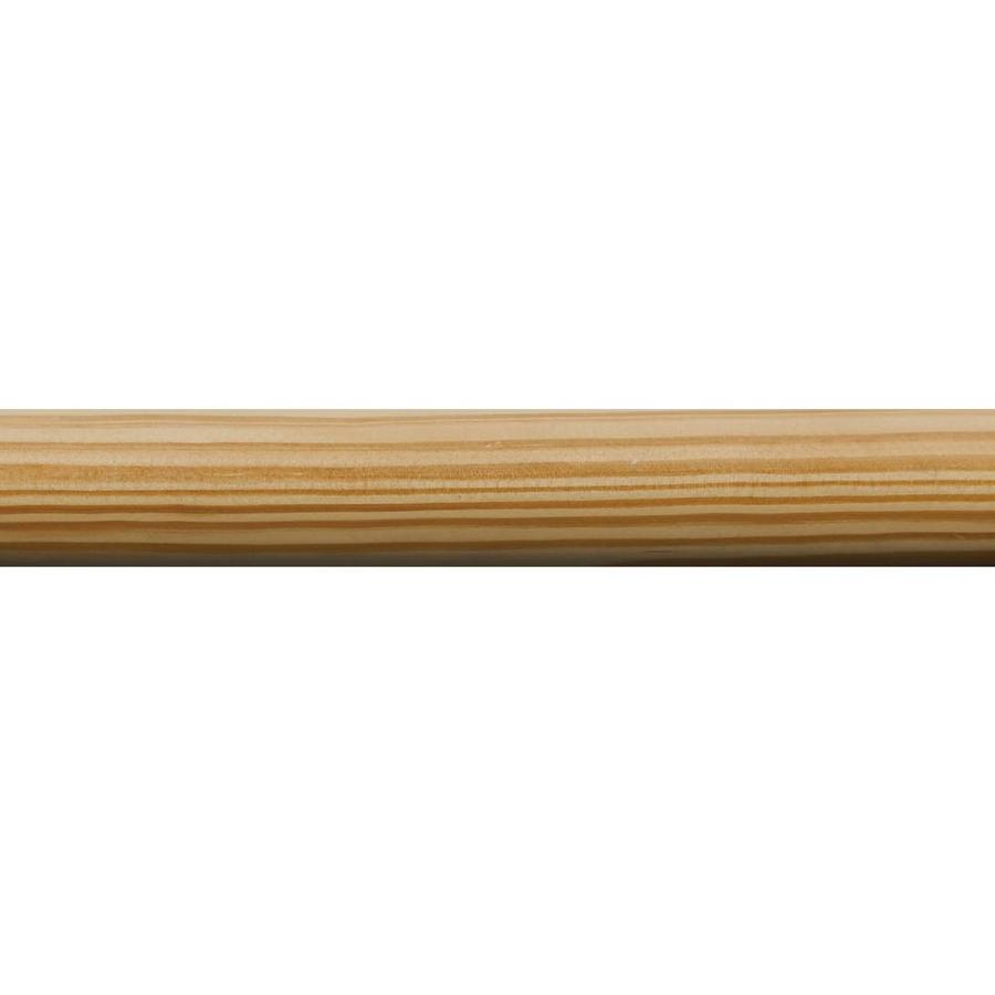1-in x 72-in Pine Full Round Moulding