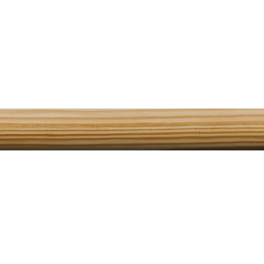 Closet Pole 1-in x 8-ft Pine Full Round Moulding