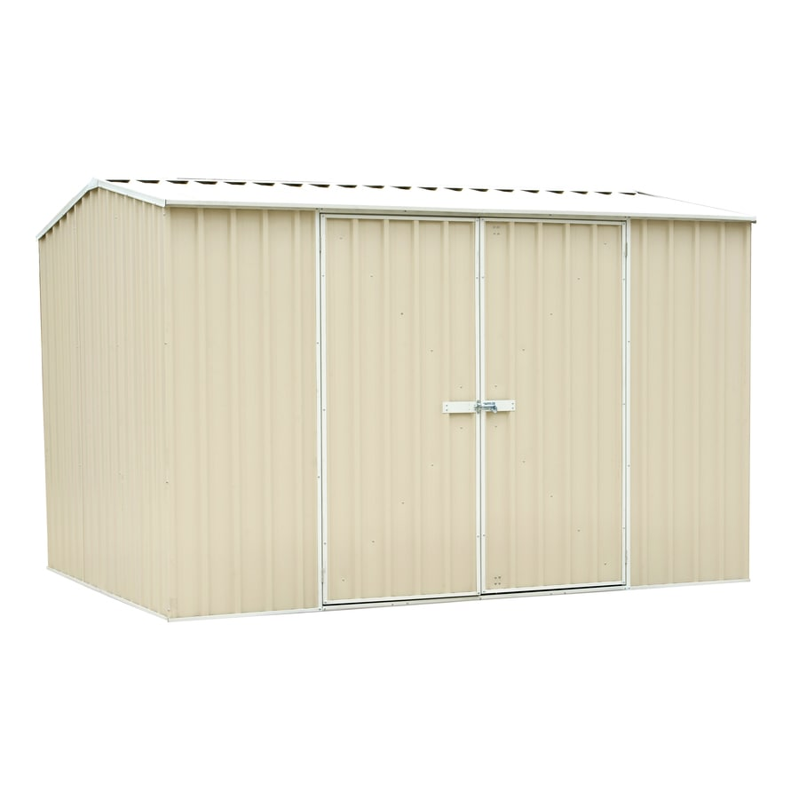 ABSCO Premier Shed Galvanized Steel Storage Shed (Common: 10-ft x 8-ft; Interior Dimensions: 9.678-ft x 7.251-ft)