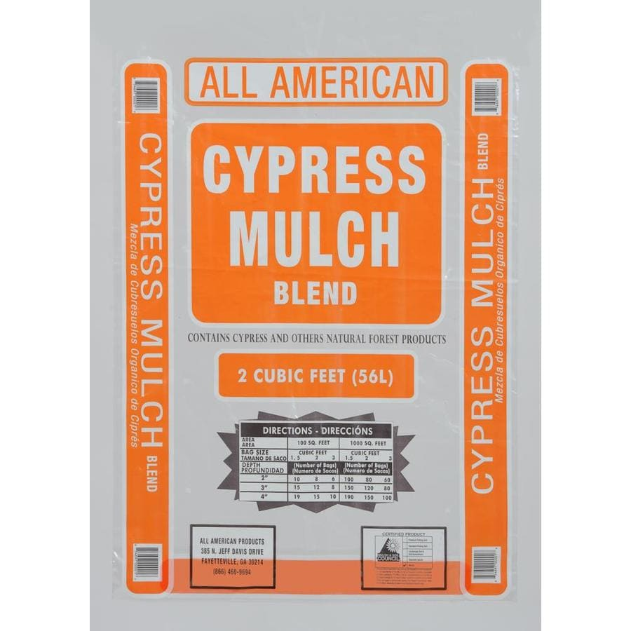 All American 2-cu ft Red Cypress Blend Mulch