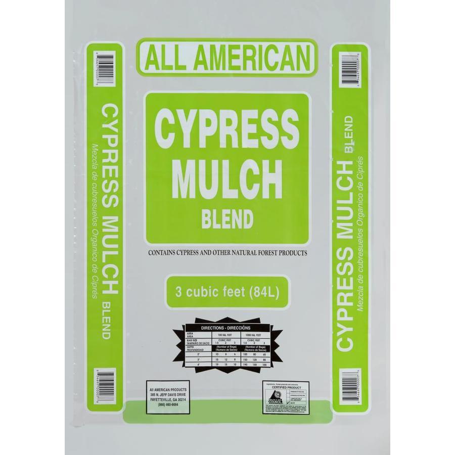 All American 3-cu ft Red Cypress Mulch Blend