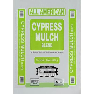 3 Cu Ft Tidewater Red Cypress Mulch Blend
