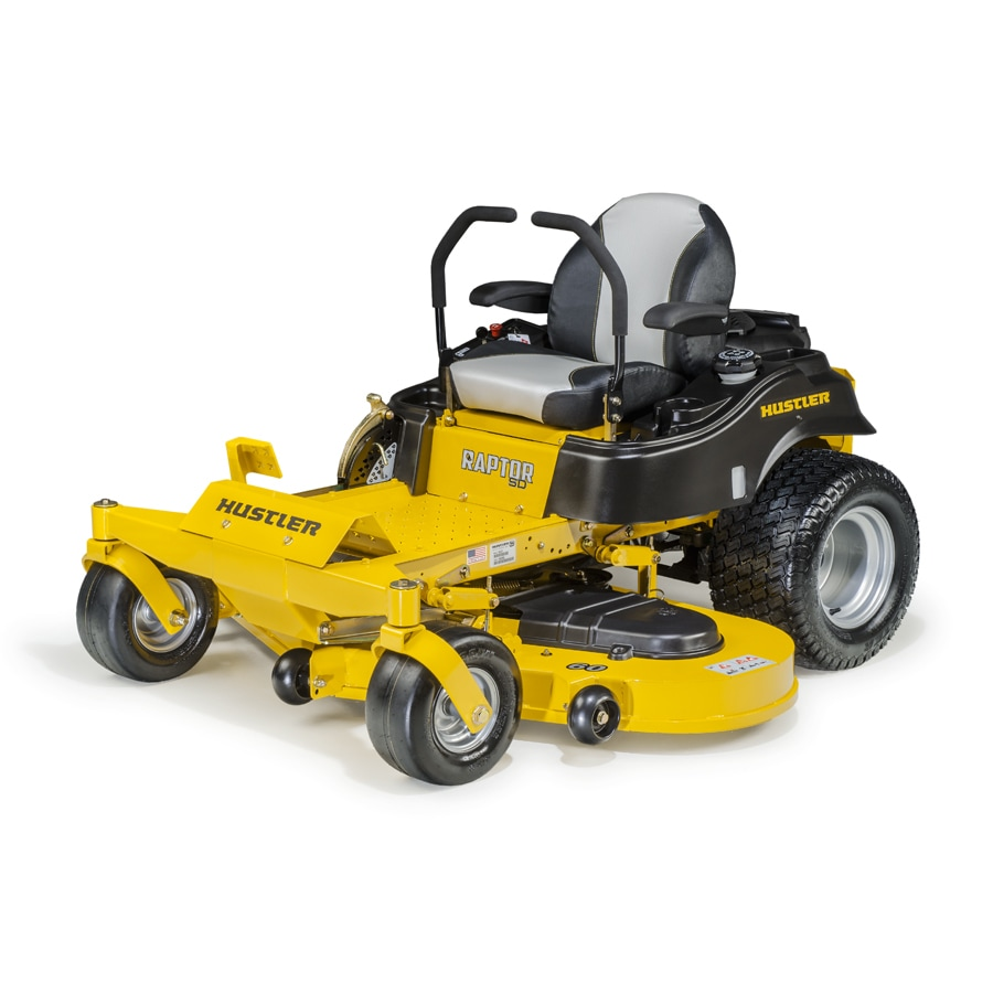 Hustler RAPTOR SD 26-HP V-Twin Dual Hydrostatic 60-in Zero-Turn Lawn Mower