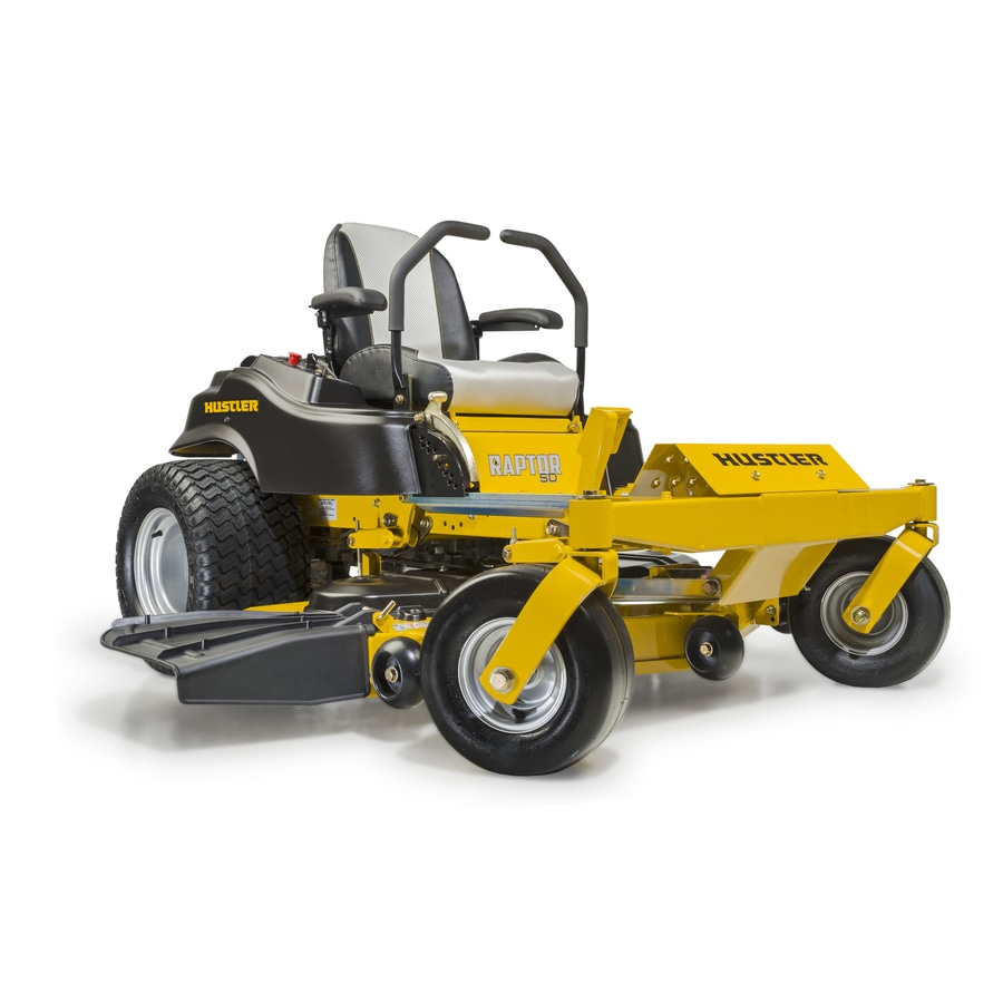 Hustler mower with ruggerini engine