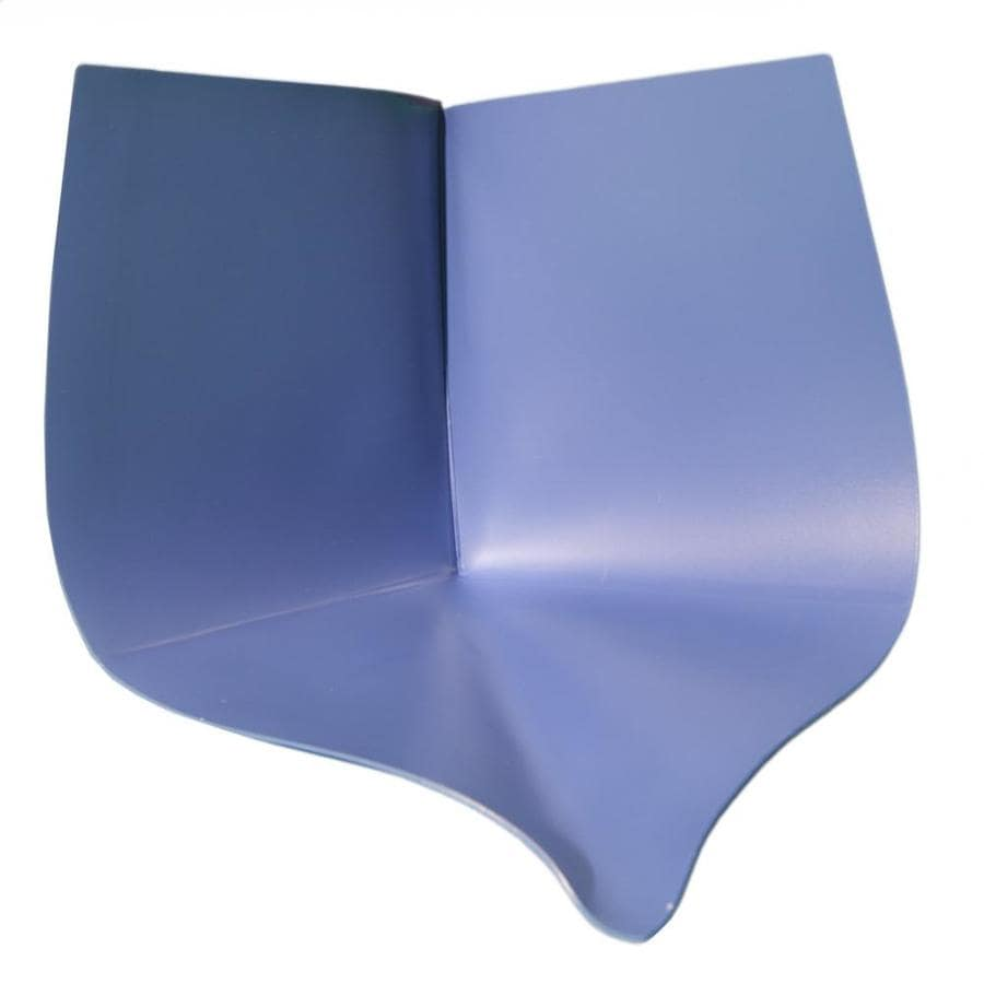 Compotite Composeal Blue Solid Surface Shower Pan