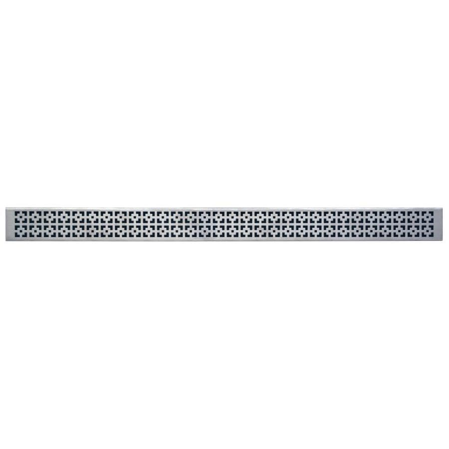 Compotite 24-in Mission Design 24-in Stainless Steel Stainless Steel Grate