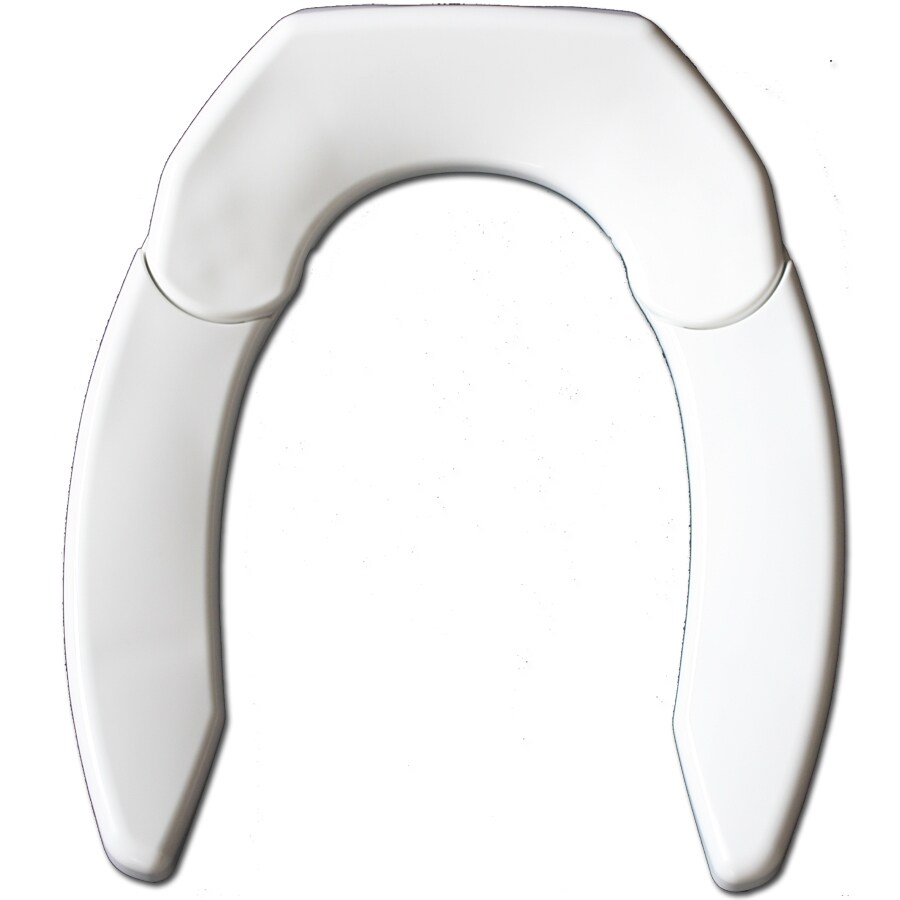 Adjustable Advantage Adjust for Comfort Plastic Toilet Seat