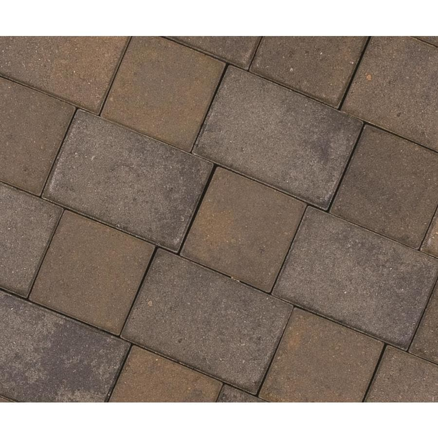 CastleLite Cobble Stone Tahoe Blend Paver (Common: 6-in x 9-in; Actual: 5.5-in x 8-in)