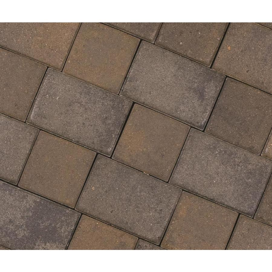 CastleLite Cobble Stone Tahoe Blend Paver (Common: 8-in x 11-in; Actual: 8-in x 11-in)