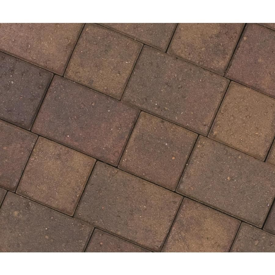 CastleLite Cobble Stone Sonoma Blend Paver (Common: 8-in x 11-in; Actual: 8-in x 11-in)